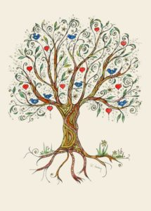Heart Tree by Sue Trickey