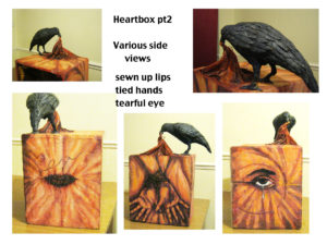 Heartbox (images of sculpture-page 2) by Andrew Saggers