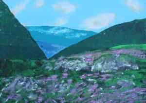 Heather on the Isle of Skye by Bernard Parker