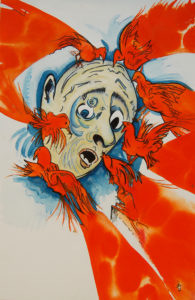 Hen Pecked by David Jones