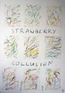 Strawberry Collision by Henry