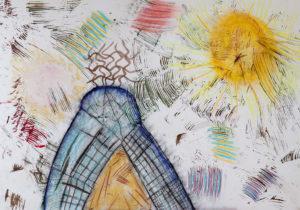 Hill & Sunshine by gaynor harris