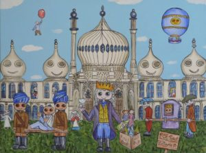 The Brighton Pavilion. by Christopher Hoggins