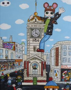 The Jubilee Clock Tower. Brighton by Christopher Hoggins