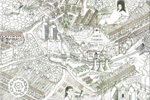 Home & Environs by Richard Bray