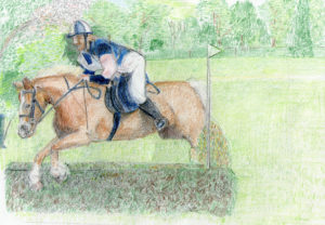 Horse Eventing 0611 by Alan Farndon