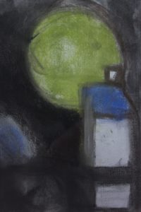 House and Green Ball by Keith Fitton
