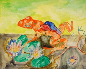 G M Frog by Howard Luke