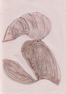 Looking Bird by Howard Barton