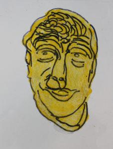 Self Portrait by Howard Barton