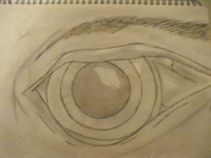 Human eye by jon-green
