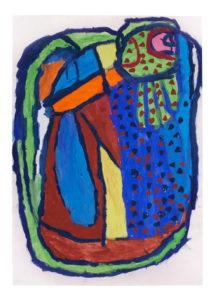Untitled (Multicoloured Bird) by Ian Partridge