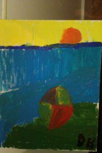 the sun and the beach ball by cig2cig