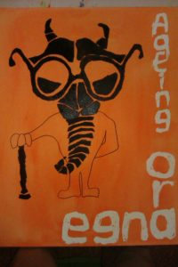 Ageing Orange by Ben Fish