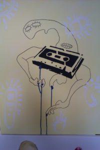 Tape Worn by Ben Fish