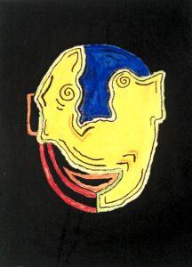 Slightly Happy Face by Aquinas Okell