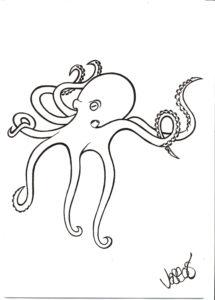 Octopus #2 by Jason Lowe