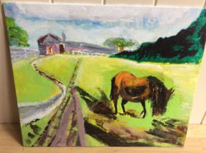 Favorite horse by Michael Spencer