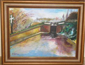 Lock in Cradley Heath by Michael Spencer