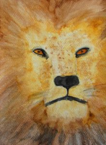 Jeff the Lion by Sam Randall