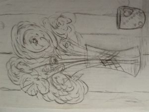 Sketch by Nicola Foley