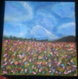 Spring bursts in the tulip fields by Kara Jane Spencer