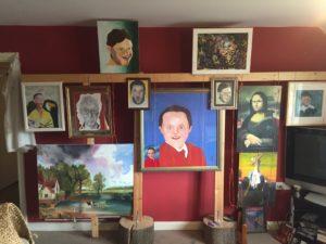 Bryan's Studio by Bryan Aldridge