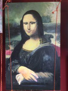 Study of Mona Lisa by Bryan Aldridge
