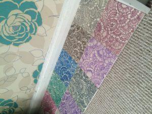 First tiles by Gemma Ellis