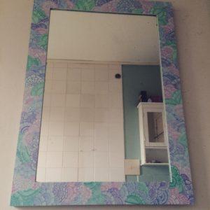 Bathroom mirror by Gemma Ellis
