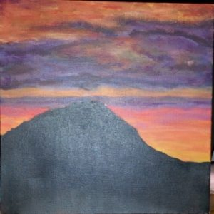 Volcanic Skies by Kara Jane Spencer