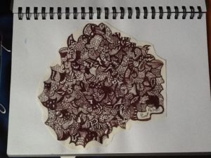 First doodle by Nicola Foley