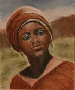 African Lady by Josie