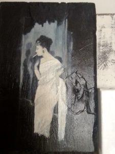 Audrey Hepburn by Jill Green