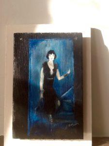 Flapper Girl Louise Brooks by Jill Green