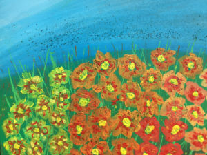 Field of Flowers by Inanna Seren