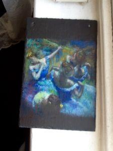Blue Dancers by Jill Green