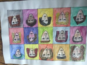 Faces by Carole Bennett