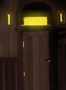 Behind the door by Kay