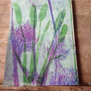 Botanical print 2 by Carole Bennett