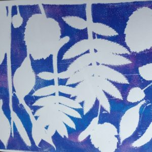 Botanical print 3 by Carole Bennett
