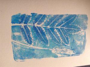 Botanical print 5 by Carole Bennett