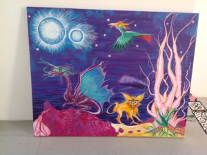 Imaginary scape by Rachel scott