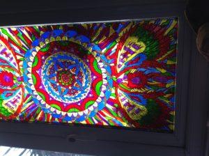Stained glass window by Rachel scott