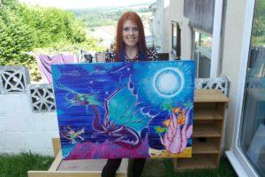 Dragon fantasy by Rachel scott
