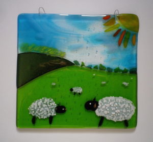 Sheep by Christine Ellis