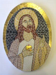 Sacred heart by George Tagg
