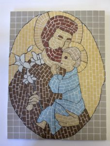 St. Joseph and child Jesus by George Tagg
