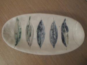 Leaf dish by Pamela