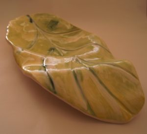 Fallen leaf by Pamela